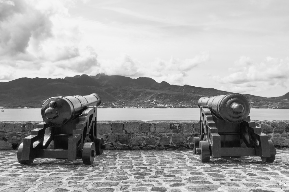 Cannons - Fort Shirley, Portsmouth, Dominica 17/04/2016