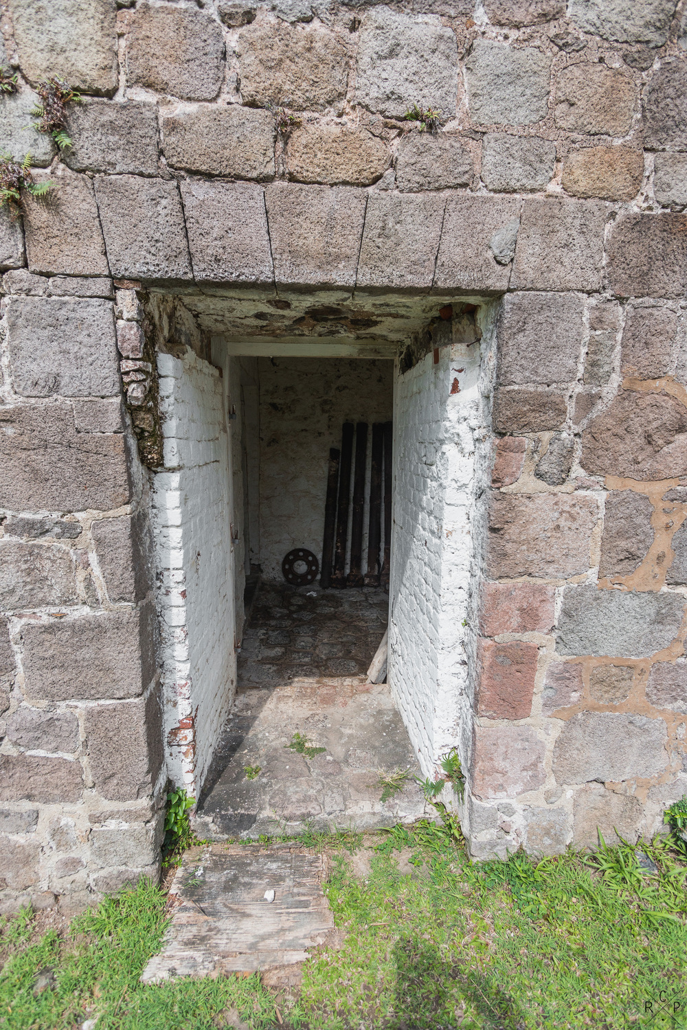 Munitions Store Entrance - Fort Shirley, Portsmouth, Dominica 17/04/2016