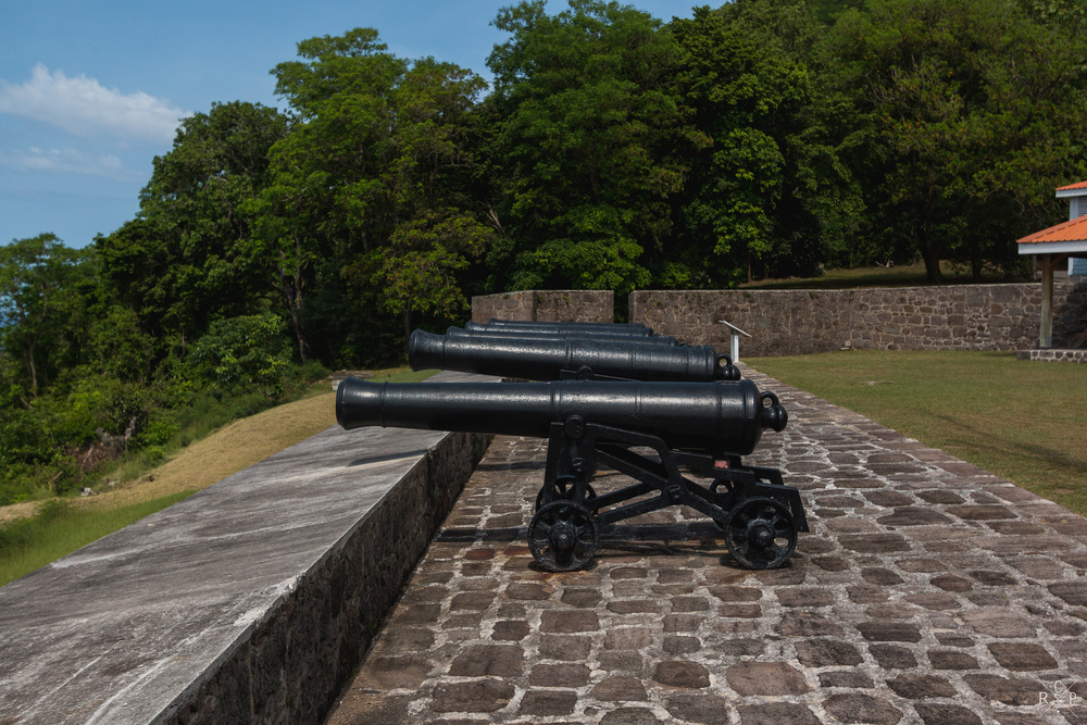 Cannons Galore - Fort Shirley, Portsmouth, Dominica 17/04/2016