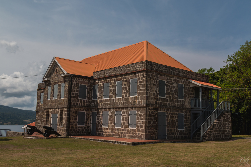 Officers Quarter 2 - Fort Shirley, Portsmouth, Dominica 17/04/2016