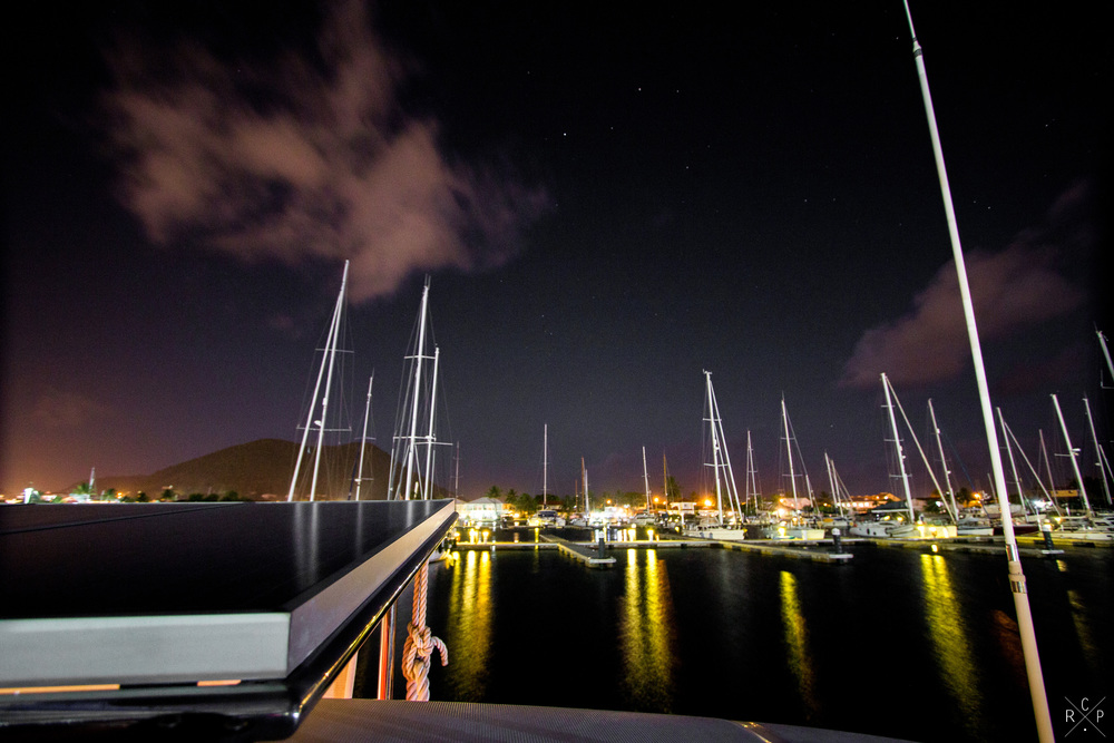 [1/3] Night Sky - Rodney Bay Marina, Rodney Bay, Saint Lucia, 25/04/2016