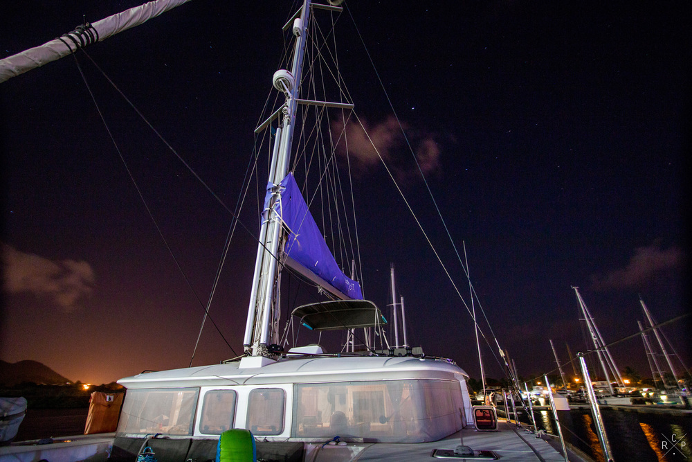 [3/3] Night Sky - Rodney Bay Marina, Rodney Bay, Saint Lucia 25/04/2016
