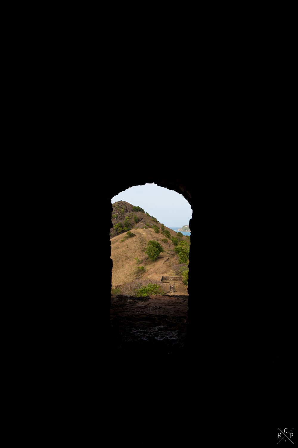 Through The Port Hole - Pigeon Island, Saint Lucia 29/03/2016