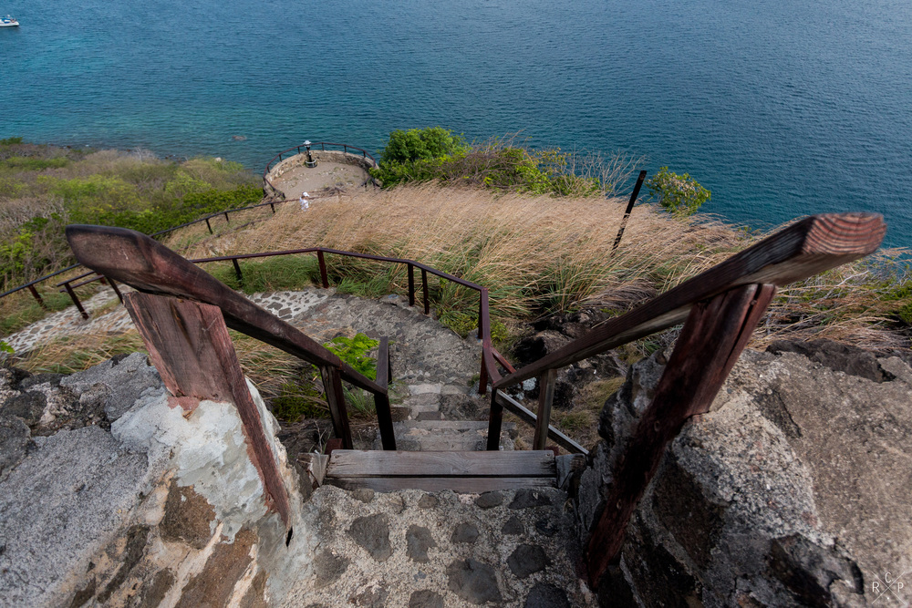Heading Down - Pigeon Island, Saint Lucia 29/03/2016