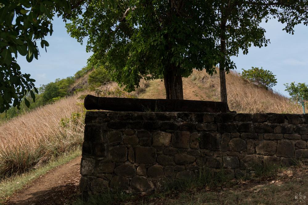 Cannon 3 - Pigeon Island, Saint Lucia 29/03/2016