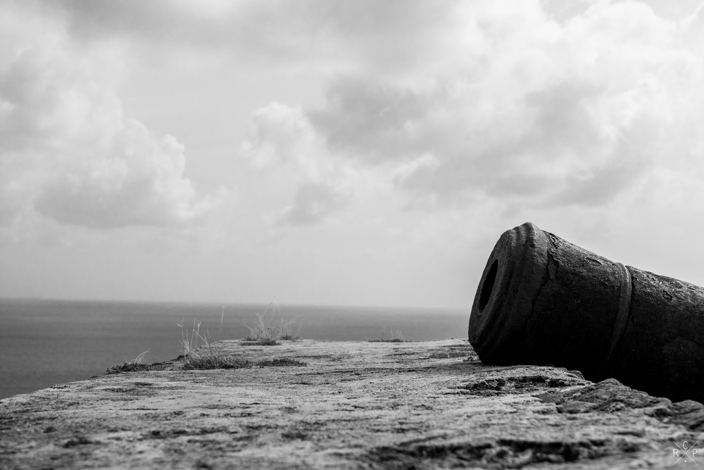 Cannon 2 - Pigeon Island, Saint Lucia 29/04/2016