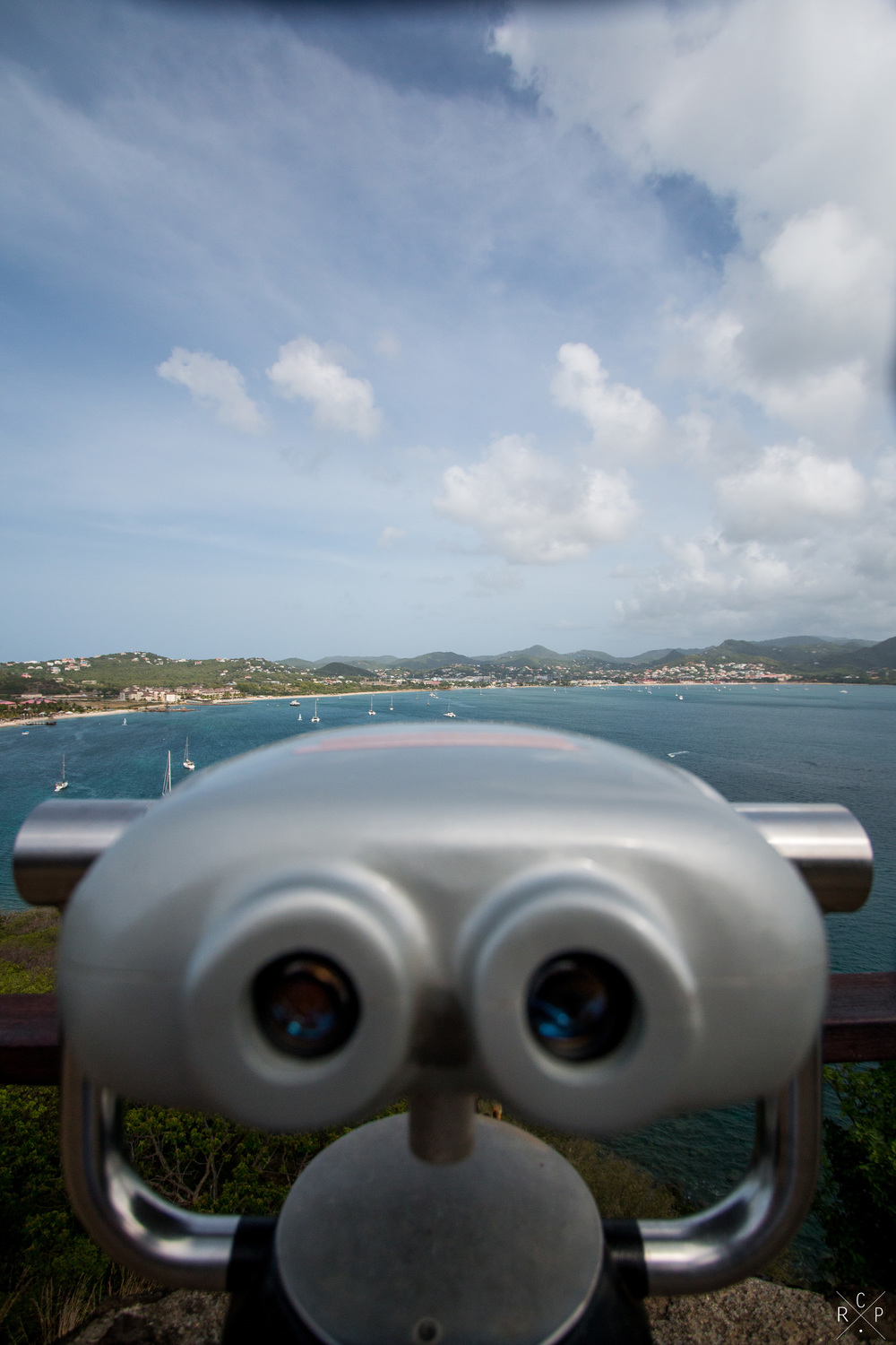 Looking Out 2 - Pigeon Island, Saint Lucia 29/04/2016