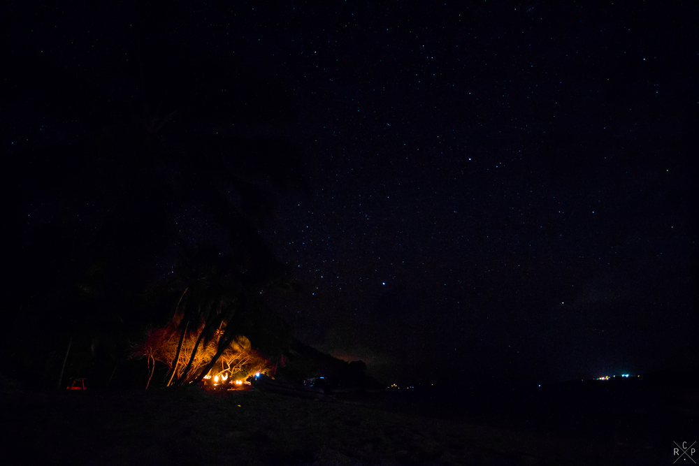 BBQ Under The Stars - Tobago Cays, St. Vincent & The Grenadines 08/05/2016