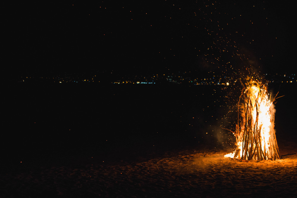 Bonfire - Mount Cinnamon Hotel, Grand Anse, Grenada 08/01/2016
