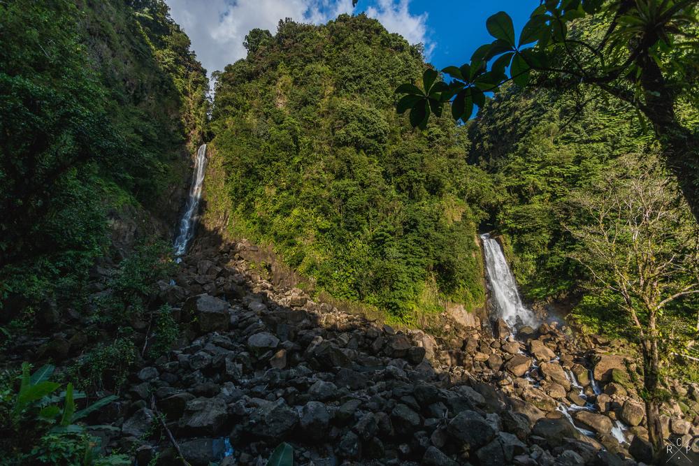 Trafalgar Falls - Trafalgar Falls, Dominica 07/03/2016