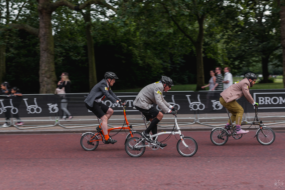 Brompton World Champs - The Mall, London, England 30/07/2016