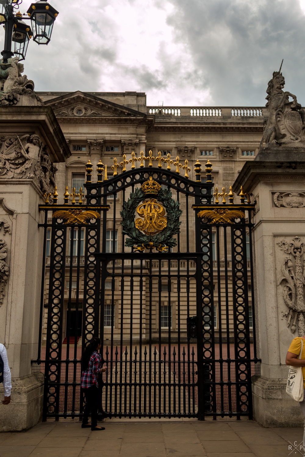 No Entry - Buckingham Palace, London, England 31/07/2016