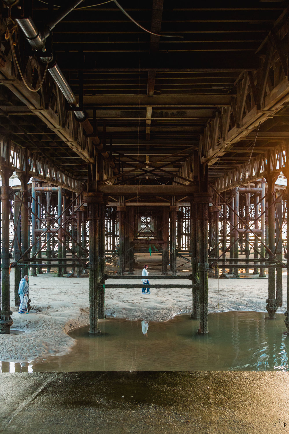 Under The Pier - Blackpool, Lancashire, England 30/082016