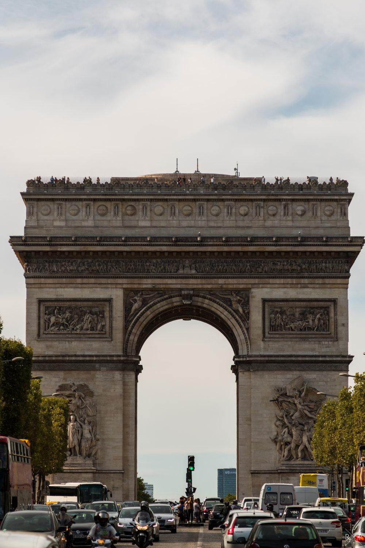 Champs-Élysées - Paris, France 10/09/2016