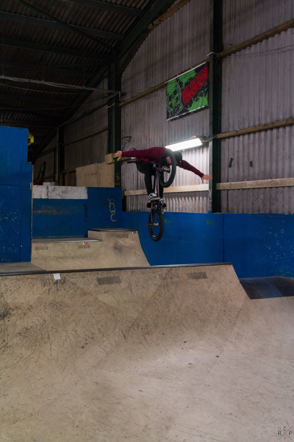 Tuck No-Hander - Ramp City, Blackpool, England 24/11/2016