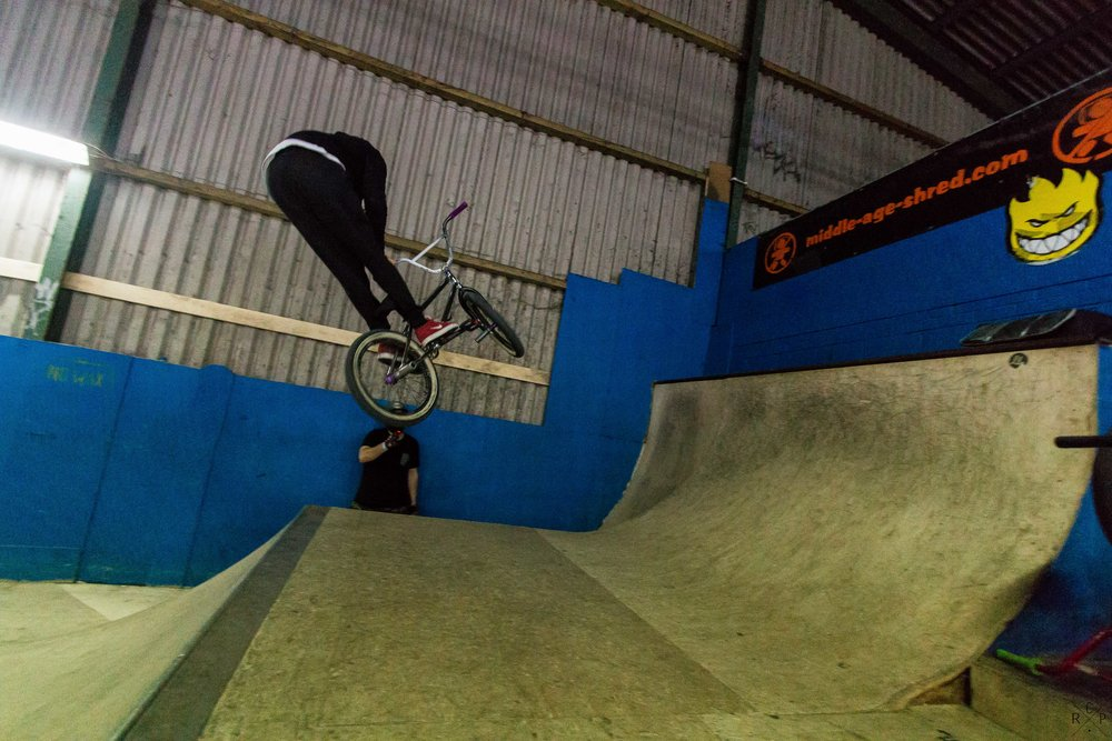 Rob 180 Bar Transfer - Ramp City, Blackpool, England 24/11/2016