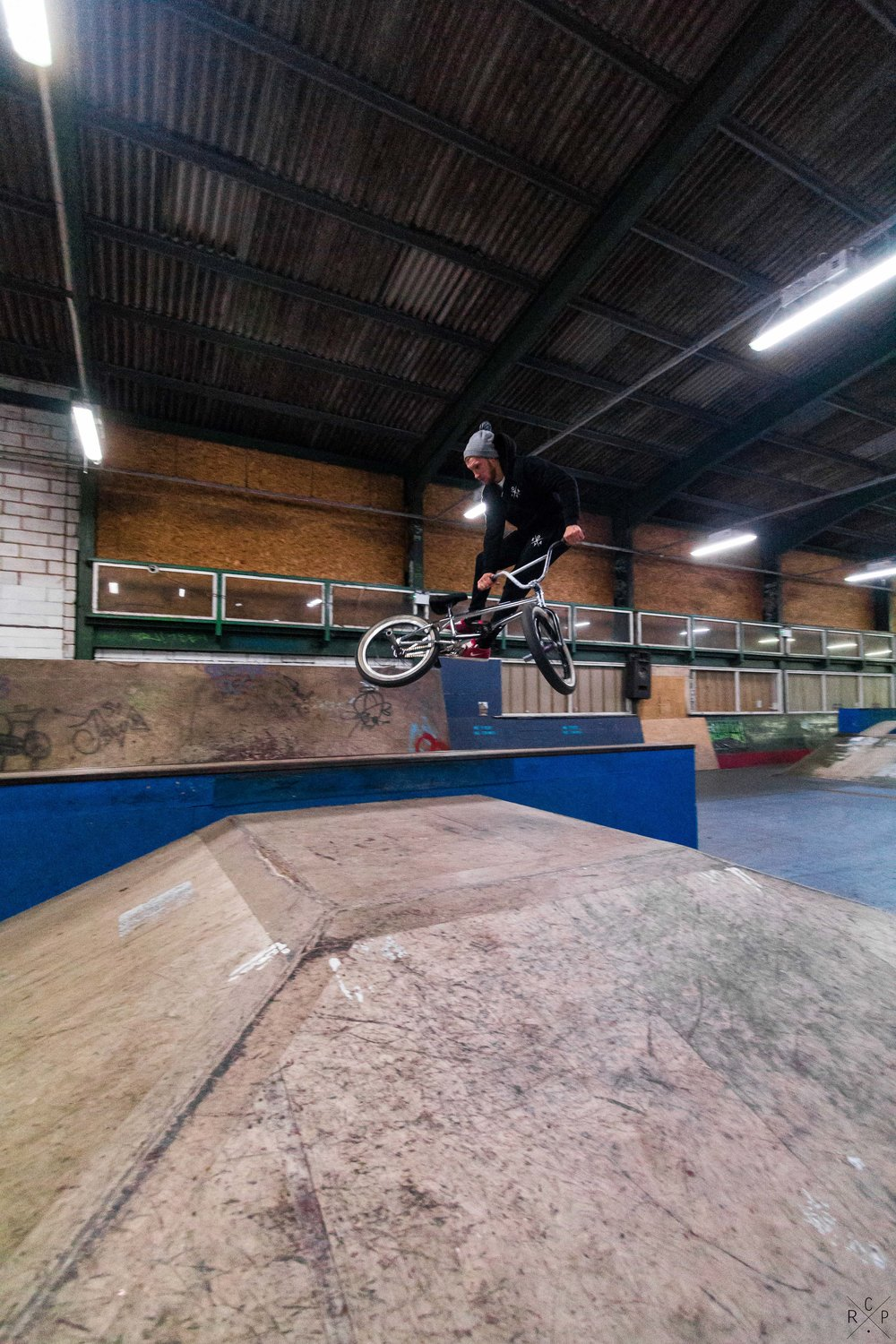 Rob Tailwhip - Ramp City, Blackpool, England 24/11/2016
