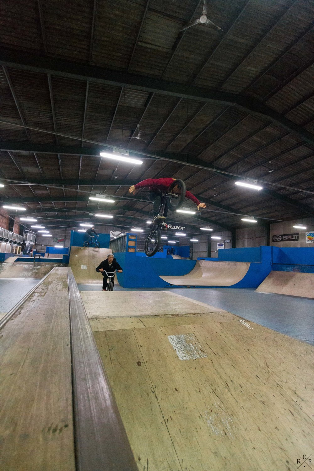 Jay Tuck No-Hander - Ramp City, Blackpool, England 24/11/2016