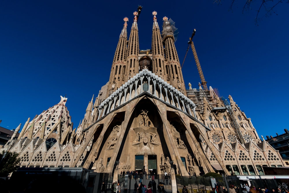 La Sagrada Familia - Barcelona, Spain 16/01/2017