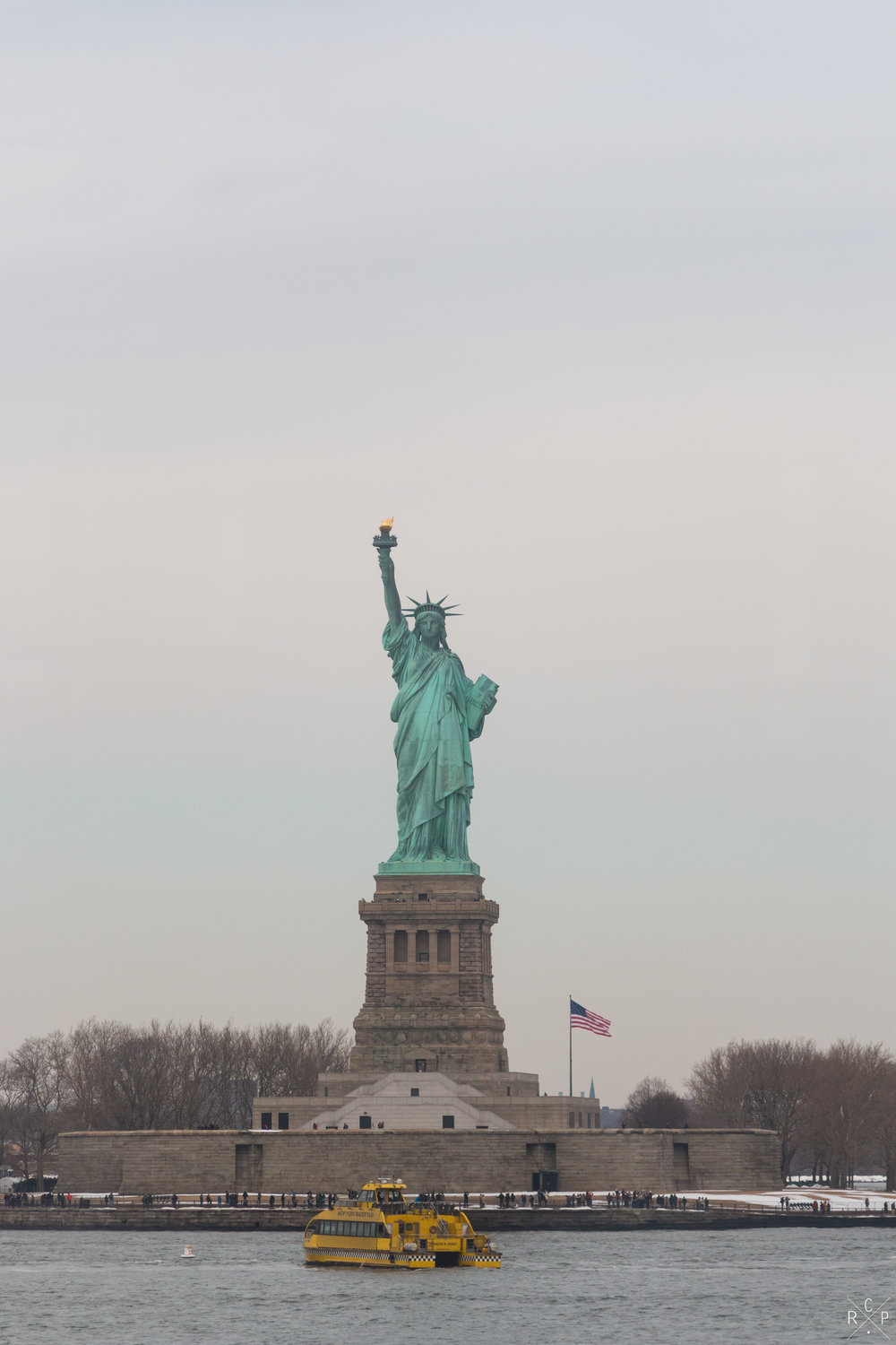 Lady Liberty - New York, USA 14/02/2017
