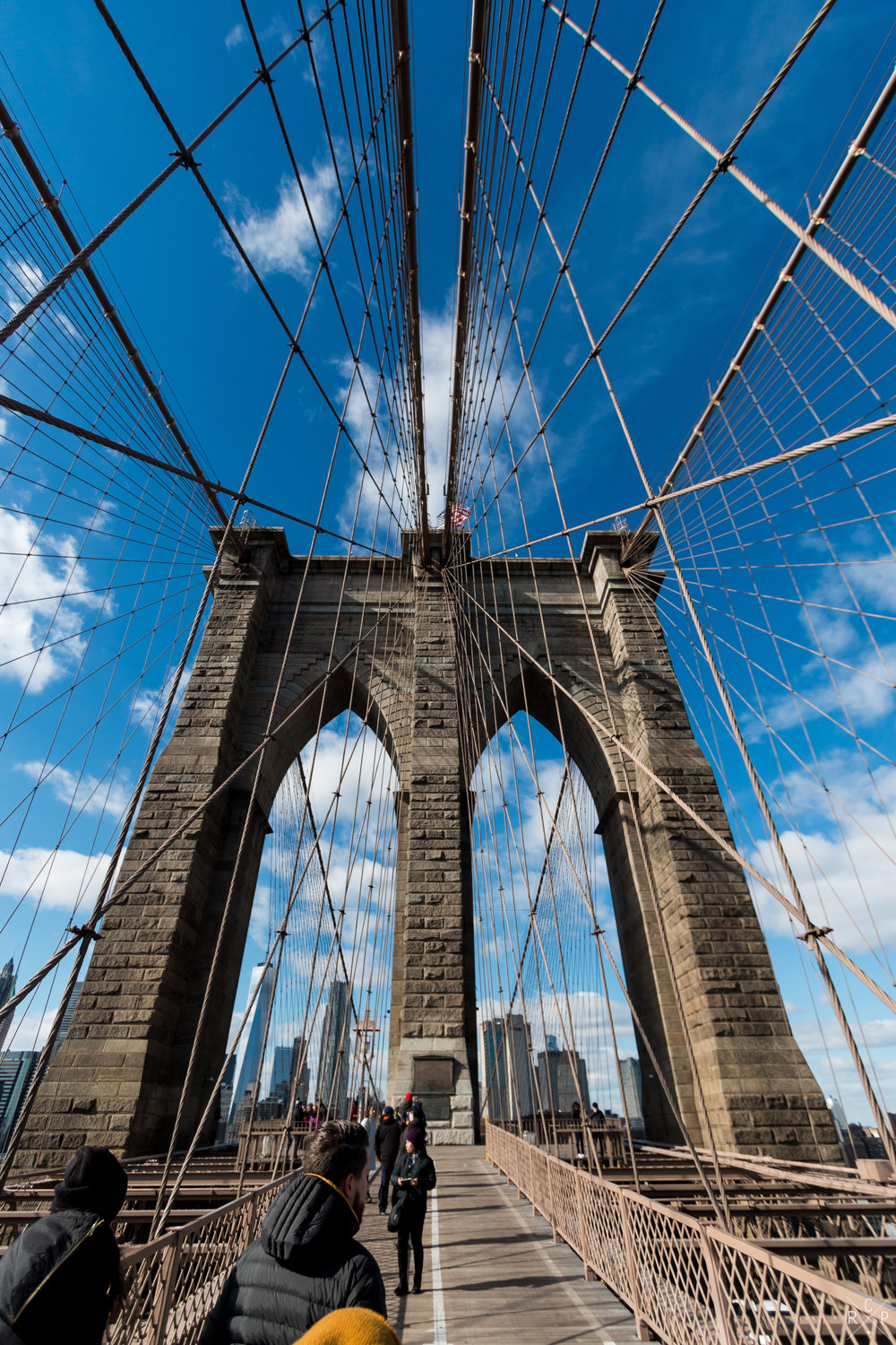 Brooklyn Bridge - New York, USA 16/02/2017
