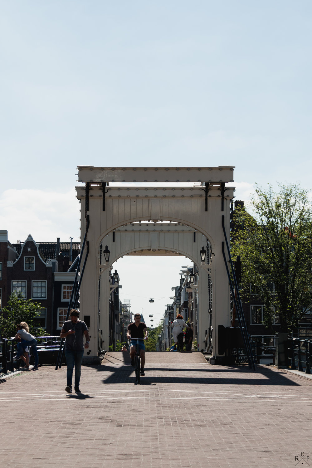 Draw Bridge - Amsterdam, Holland 18/06/2017
