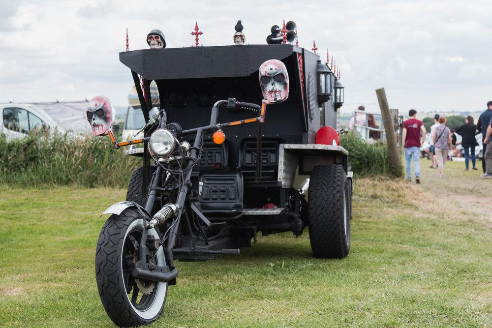 Chopper - Buxton, England 09/07/2017