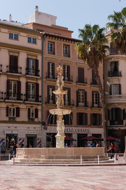 Fuente de Génova - Malaga, Spain 30/08/2017