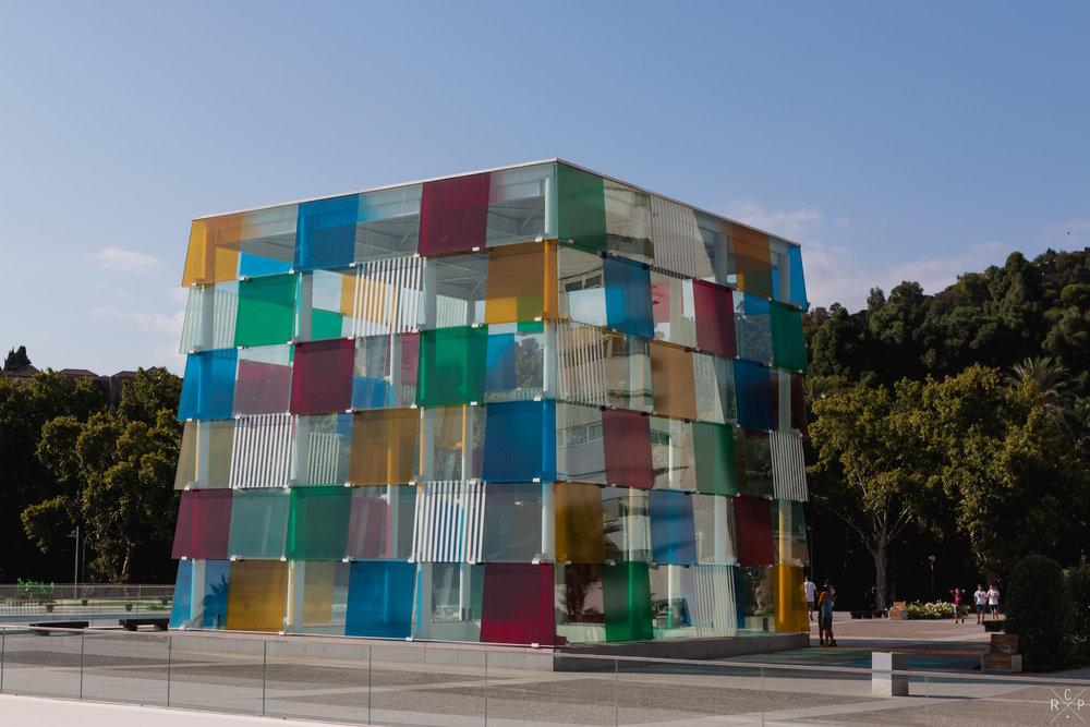 Centre Pompidou - Malaga, Spain 01/09/2017