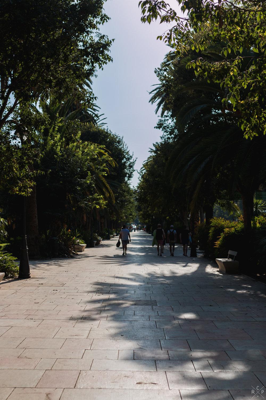 Parque de la Alameda - Malaga, Spain 01/09/2017