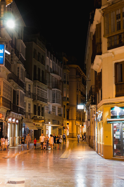 Spanish Streets - Malaga, Spain 02/09/2017