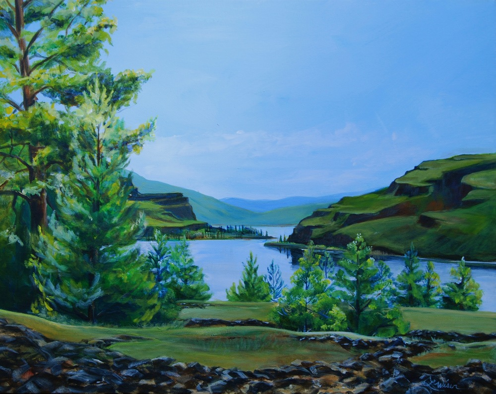 Catherine Creek View