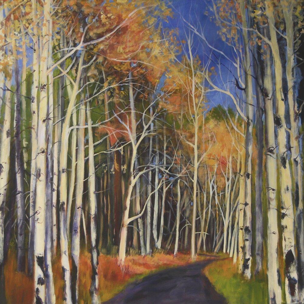 Aspen Road   Acrylic  36x36