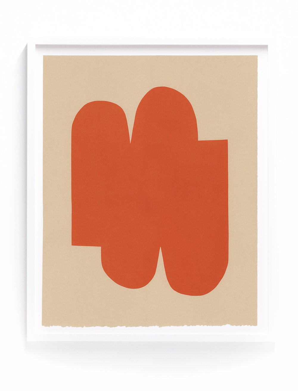 "Alyson Fox -  Shape 5 , 1-color silkscreen, 15"" x 18.75"""