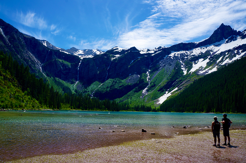 Glacier National Park Avalanche Hike lake.jpg