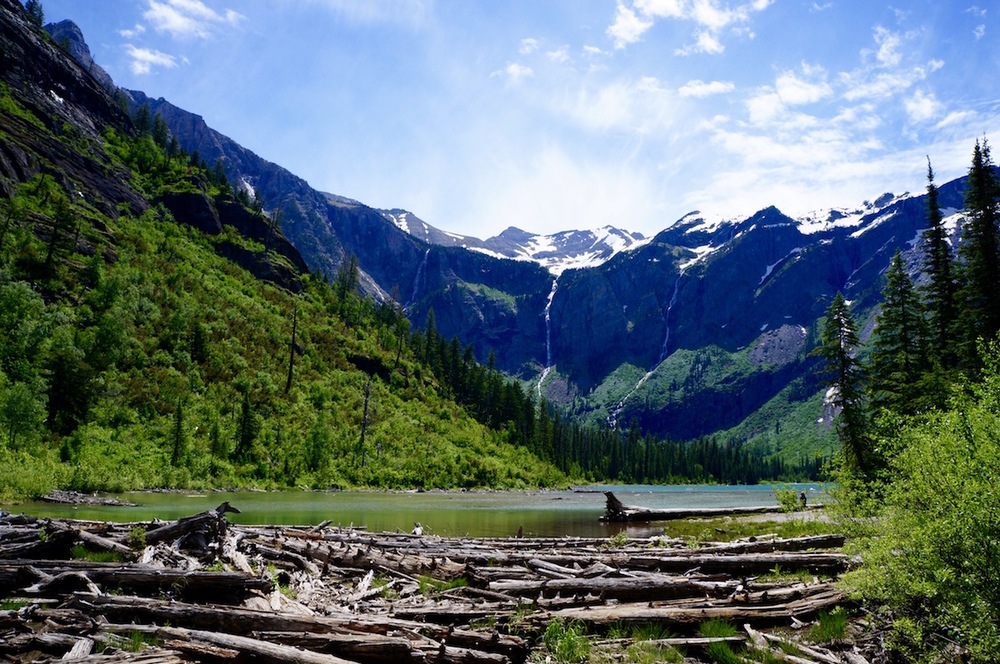 Glacier National Park Avalanche Hike lake2.jpg