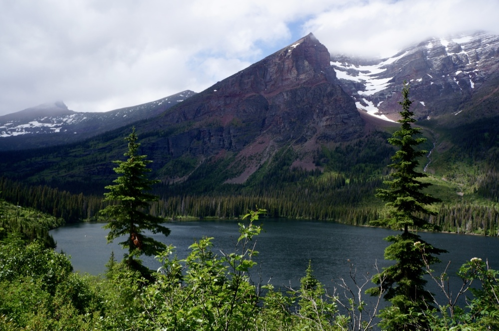 glacier national park two medicine lake hike mountain lake.jpg