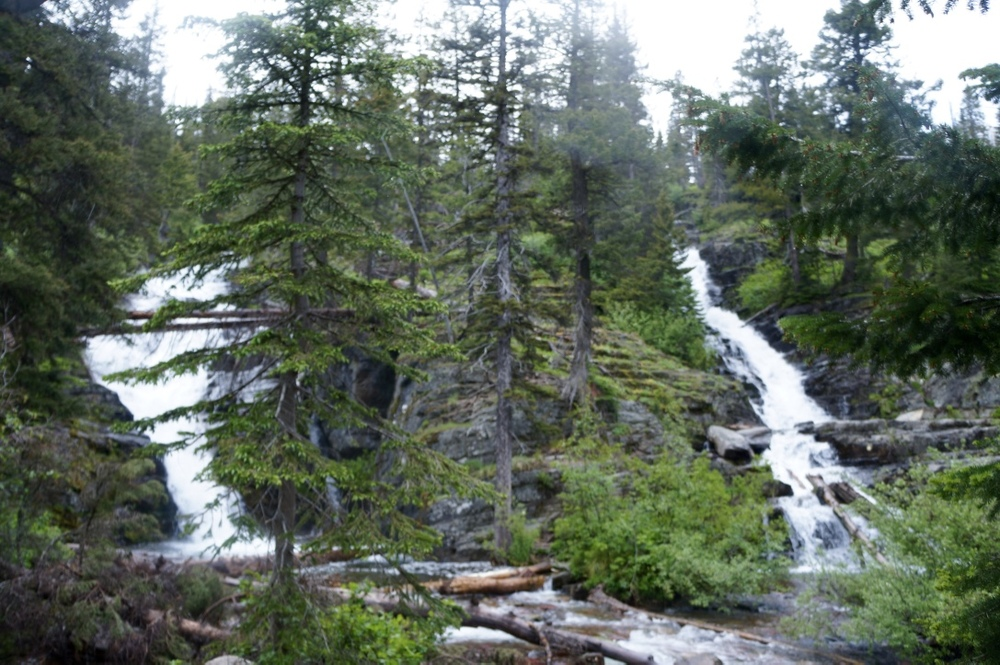 glacier national park two medicine lake hike twin falls.jpg