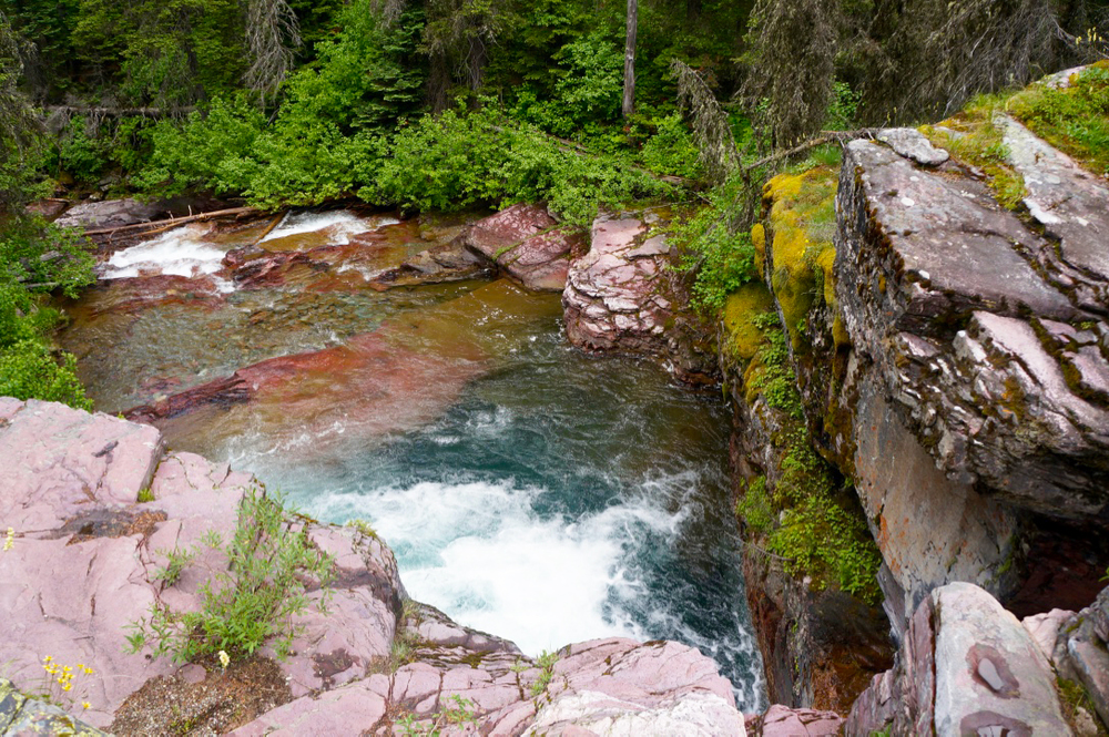 glacier national park st marys lake hiking trail waterfall2.jpg