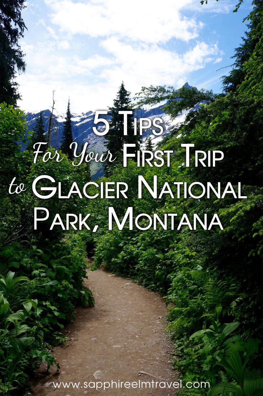 Glacier National Park tips Avalanche hike