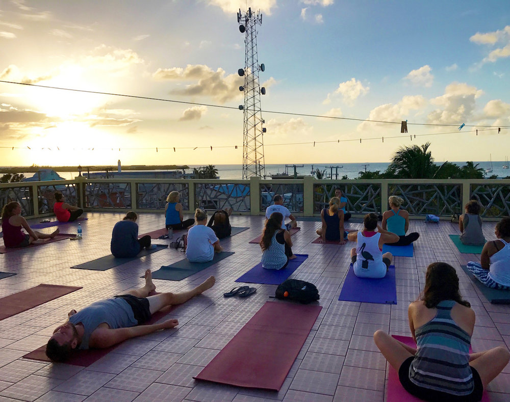 Caye Caulker Belize sunset yoga.jpg