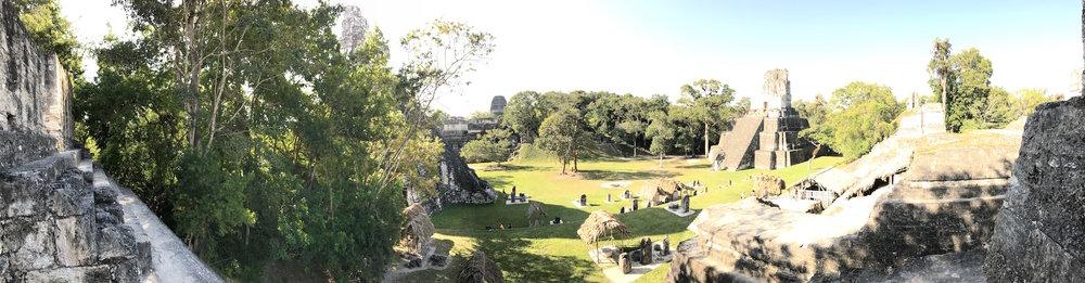 tikal guatemala main plaza
