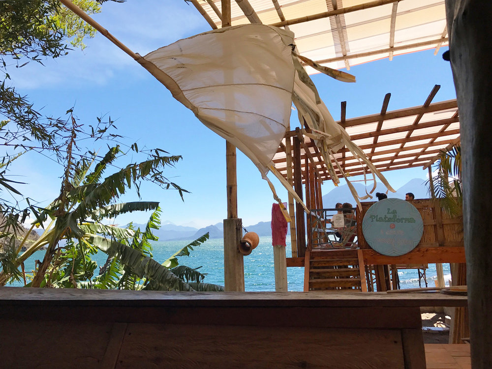 The Yoga Platform at Hostel Del Lago