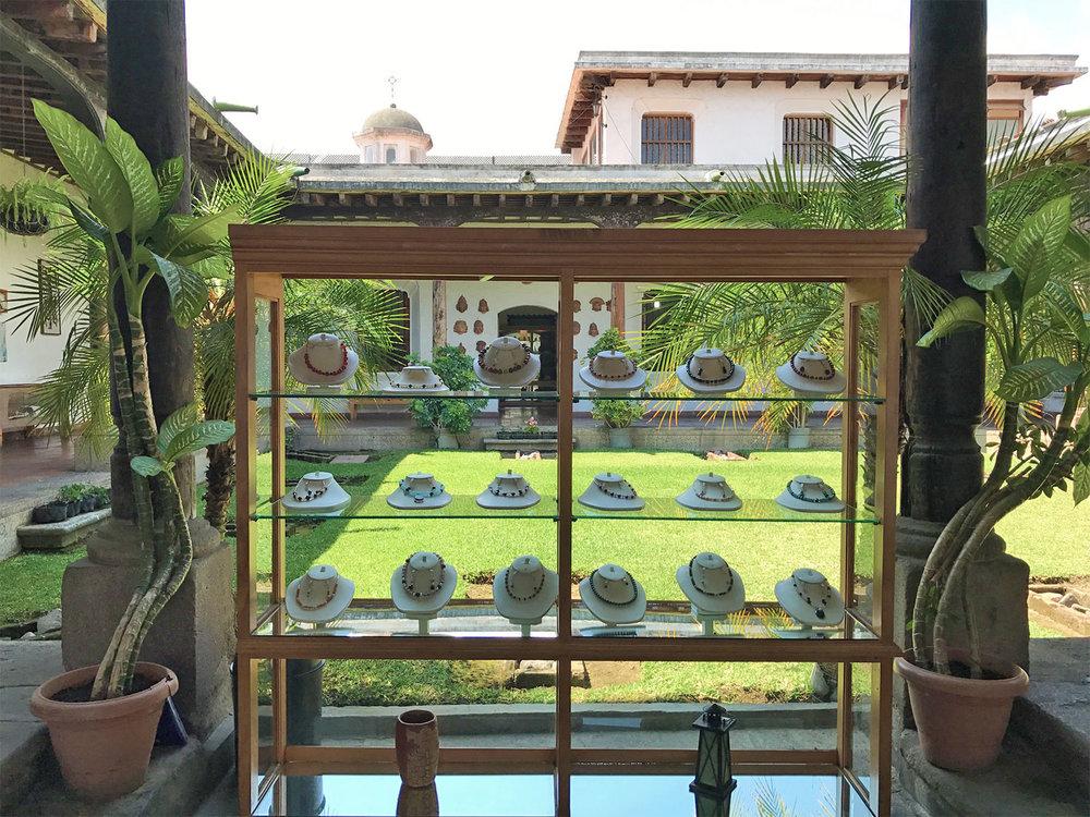 courtyard boutique in Antigua Guatemala