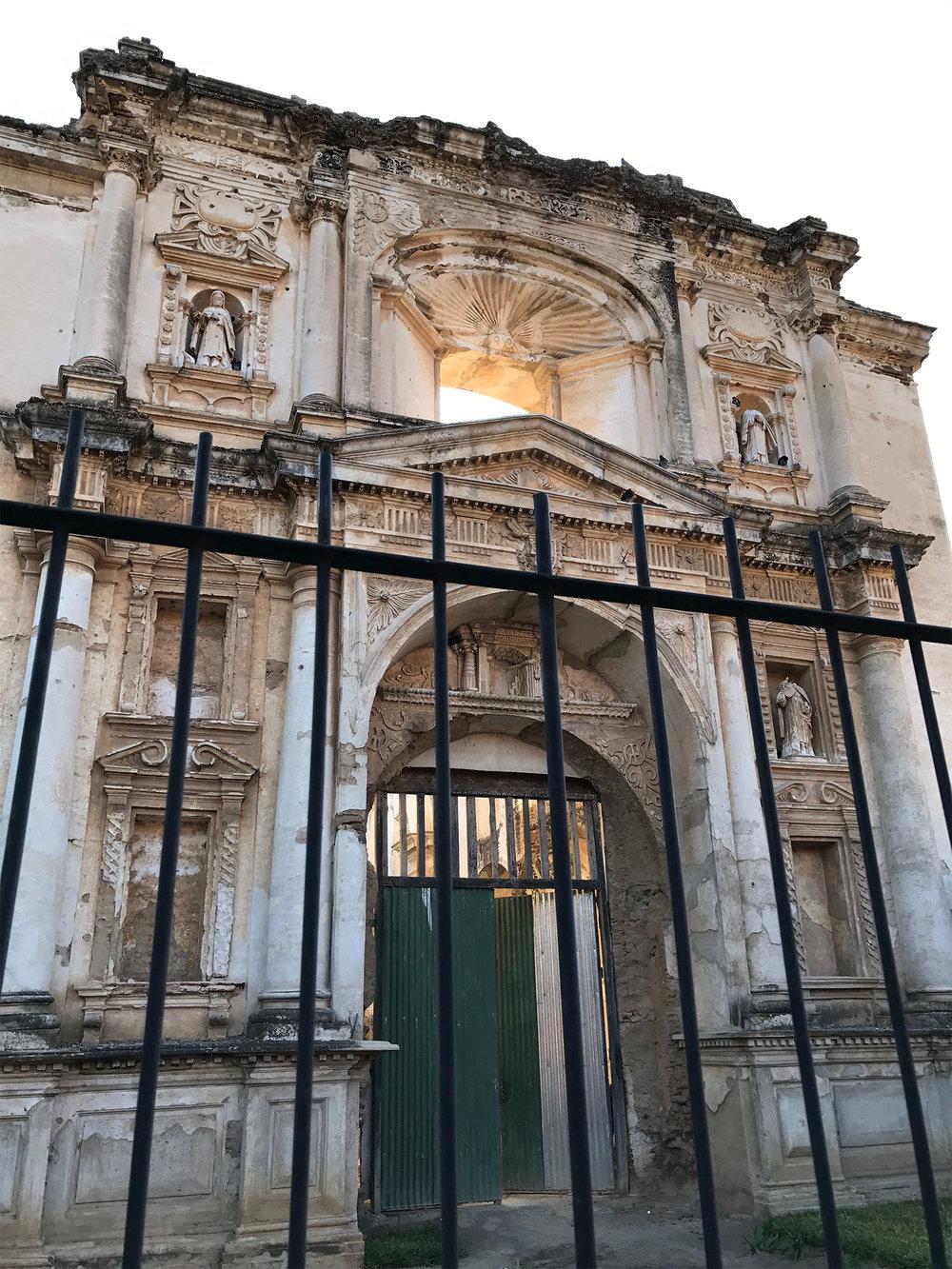 Spanish colonial ruins in Antigua Guatemala