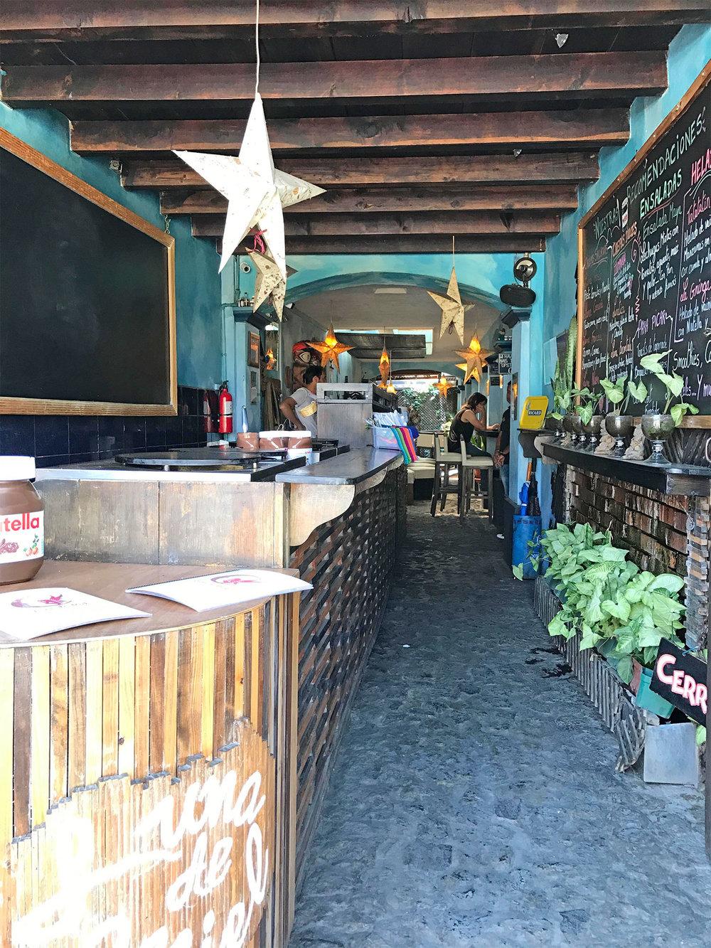 sweet shop in Antigua Guatemala