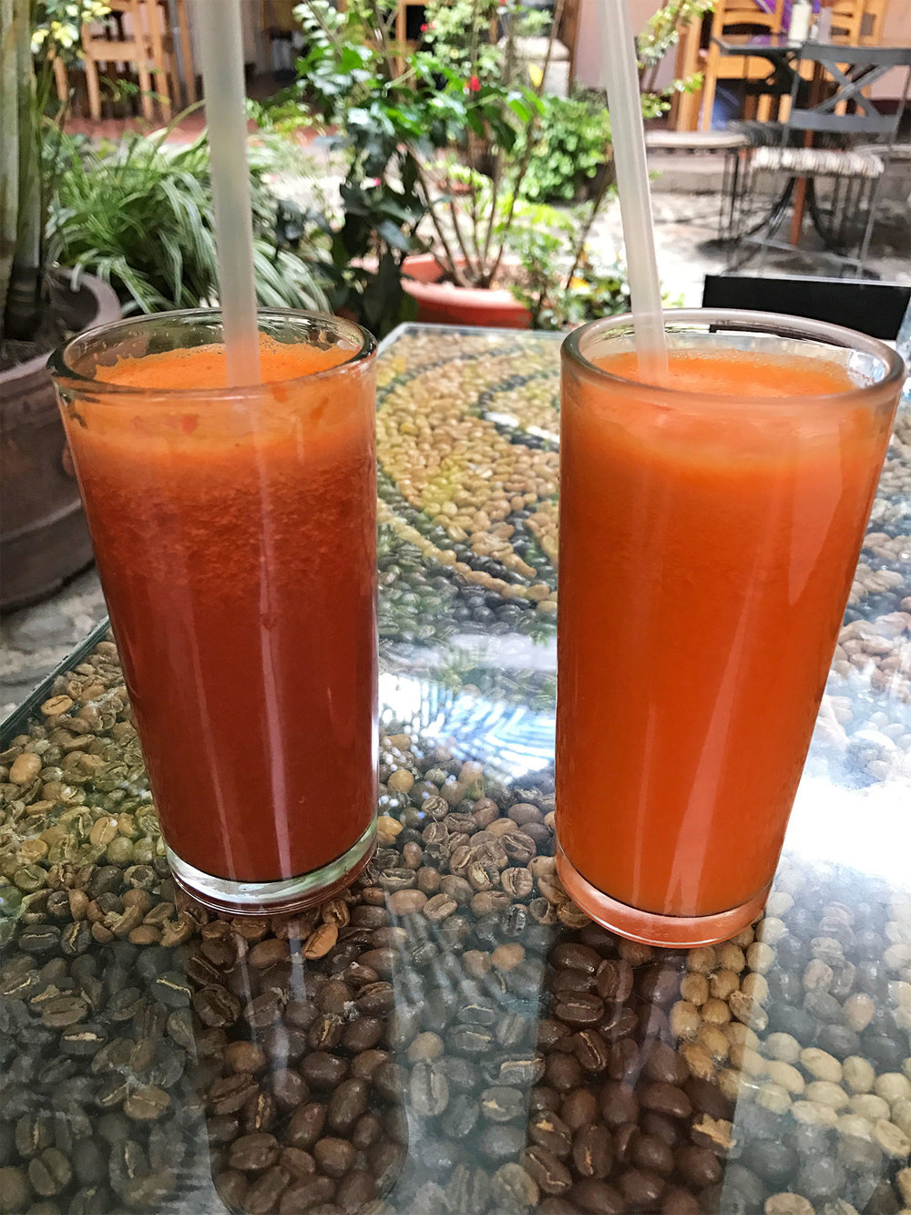 juices in Antigua Guatemala