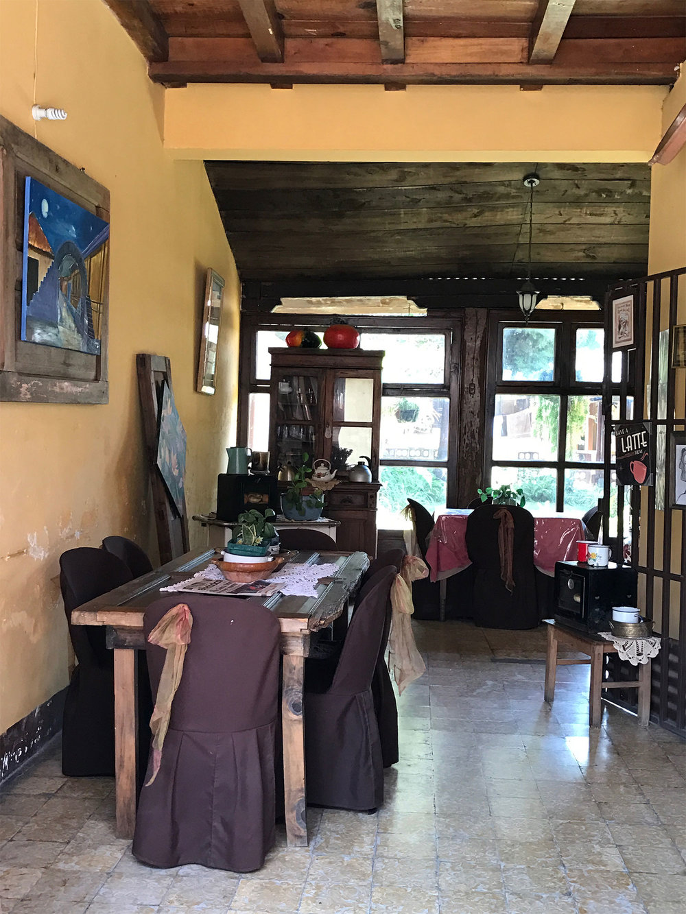 Cafe in Antigua, Guatemala