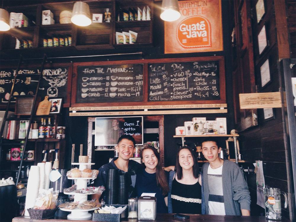GuateJava cafe in Antigua Guatemala