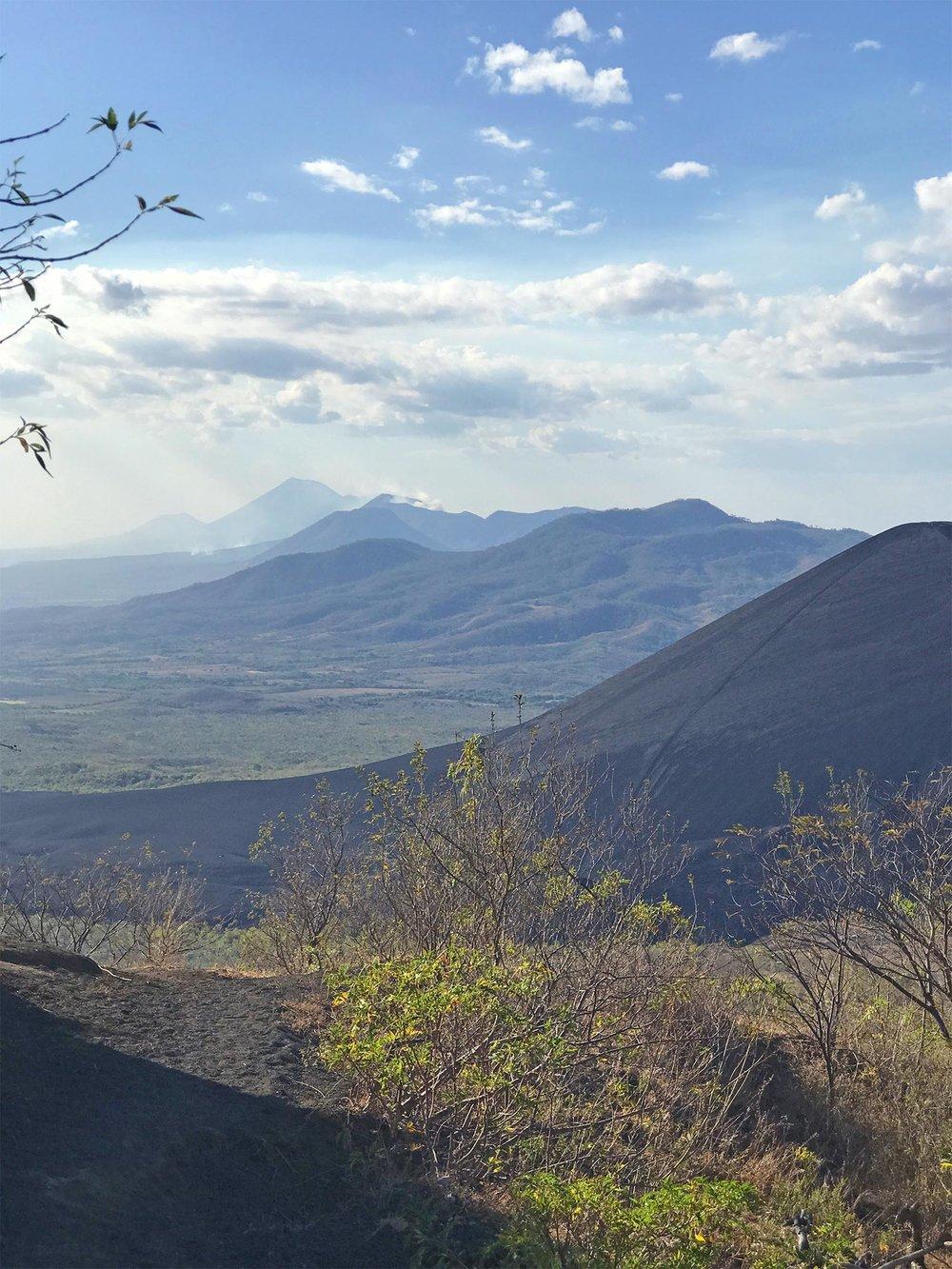 Hiking El Hoyo volcano in Nicaragua